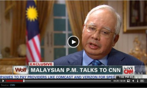 Najib CNN