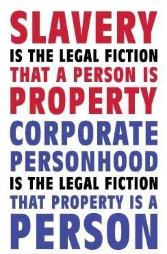 The British Crown runs the U.S. legal system  Slavery-legal-fiction