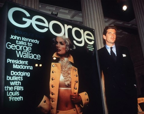 JFK Jr. told the world who murdered his father Jfk-junior-george-bush1