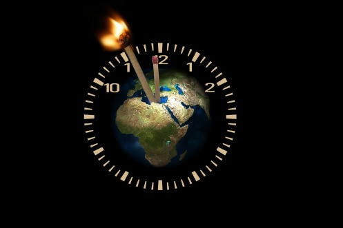 7 major Earth changes that are happening right now that everyone needs to know about Globe-time-running-out-public-domain